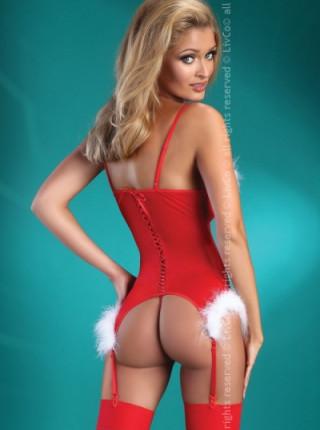 Сексуальный костюм снегурочки Christmas Angel