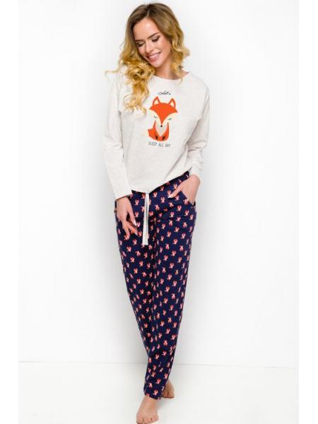 Очаровательная пижама с лисичками Nadia 1190 Taro