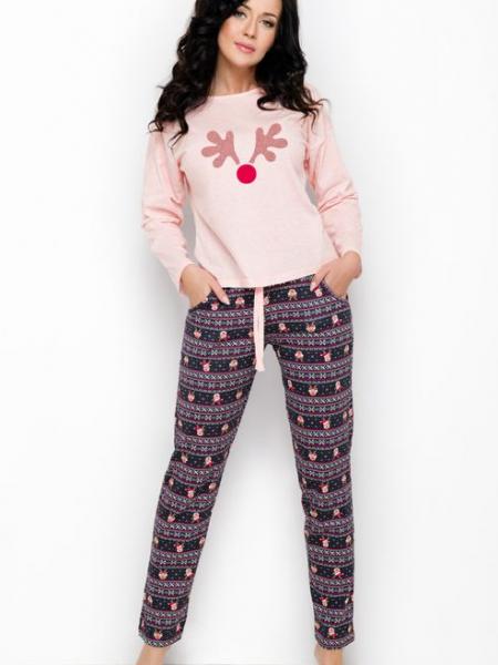 Комфортная пижама с очаровательным принтом Nadia 1190 Taro