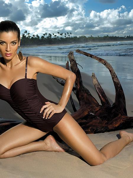 Слитный купальник с изящной драпировкой Gabrielle 2 Marko