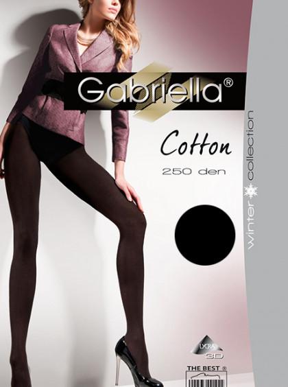 Колготки теплые из хлопка Gabriella Cotton (250 den)