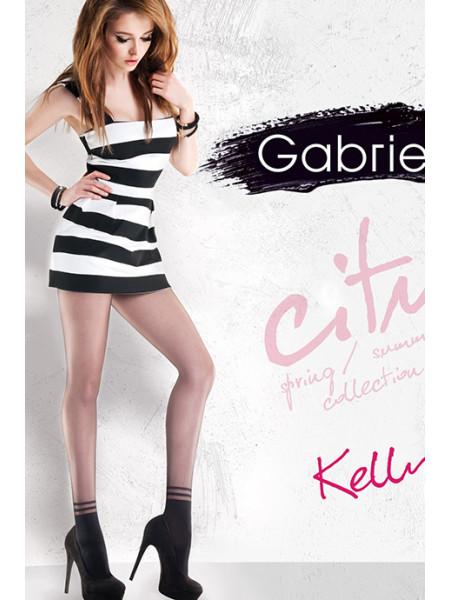 Колготки с имитацией носочков Gabriella Kelly (20 den)