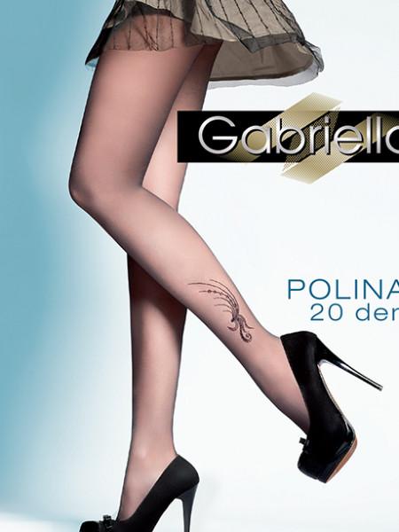 Колготки с узором Gabriella Polina (20 den)