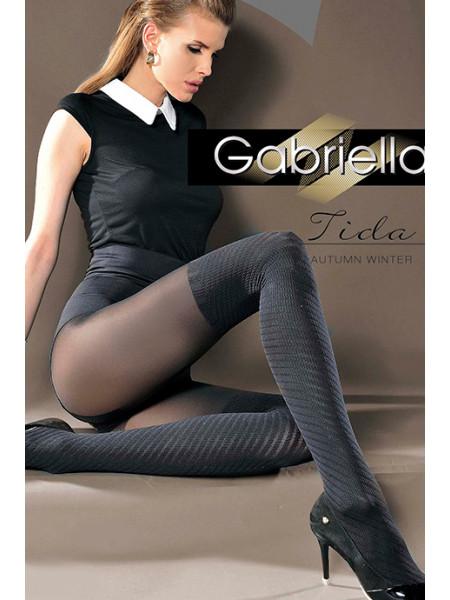 Колготки с имитацией чулок Gabriella Tida (40 den)
