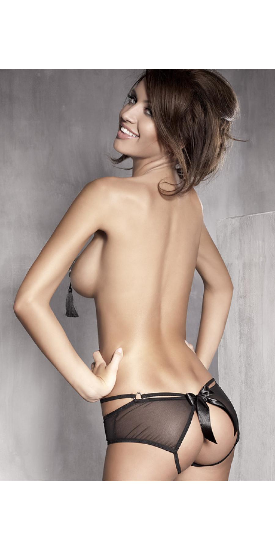 Эротические трусики с пикантным вырезом Tess