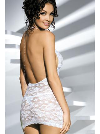 Эротическая белая сорочка Brilliant Jennifer