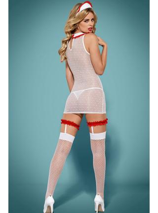 Игровой костюм сексуальной медсестры Caregirl