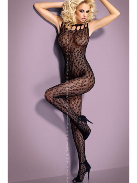 Сексуальный бодистокинг с леопардовым принтом G306
