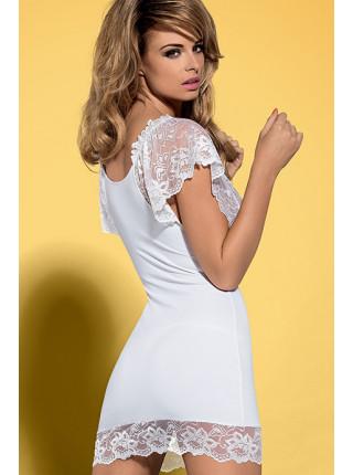 Сексуальная сорочка с кружевным лифом Imperia white