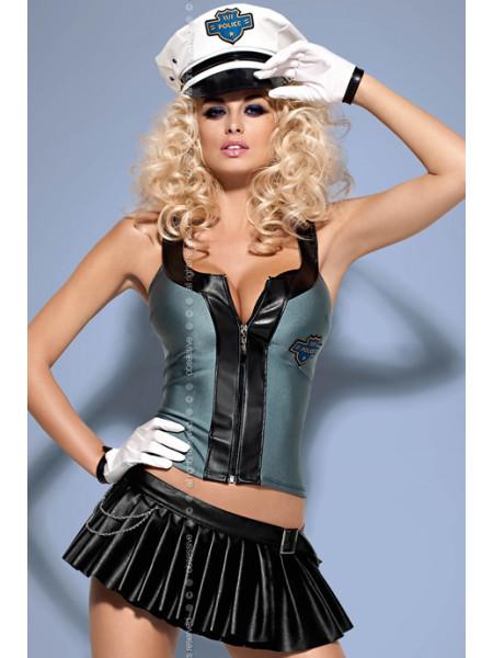 Игровой костюм полицейского Police skirty set