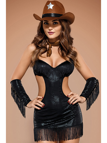 Игровой костюм сексуального шерифа Sheriffia