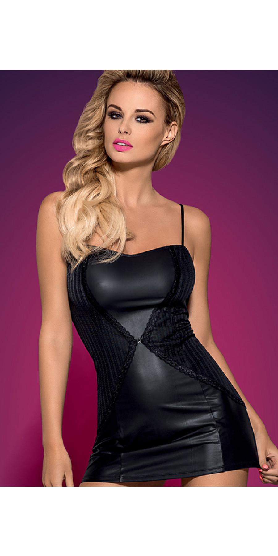 Эротическое платье под кожу Stingy