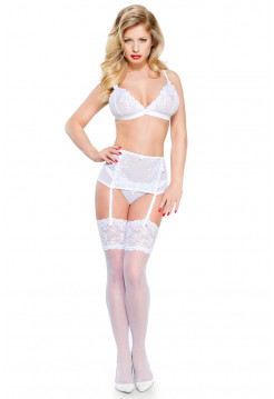 Сексуальный кружевной комплект Odette White Demoniq