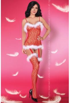 Сексуальный новогодний бодистокинг Catriona Christmas