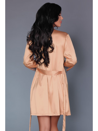 Элегантный халат с кружевом Purdie