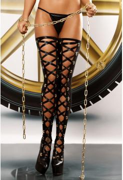 Чулки со шнуровкой Bizarre