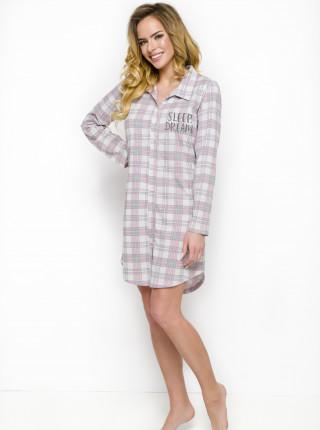 Хлопковая ночная рубашка Dalia 1191Taro