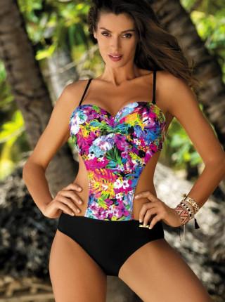 Слитный купальник с яркой летней расцветкой Blanca Marko
