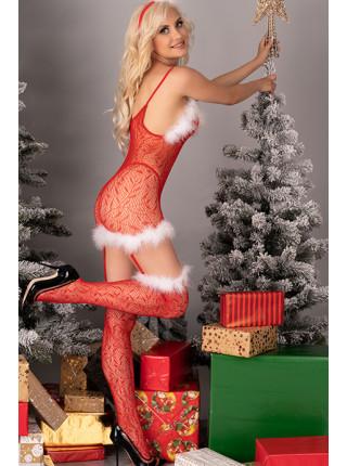 Боди-комбинезон сексуальной санты Catriona Christmas