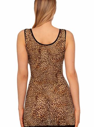 Соблазнительная сорочка в леопардовом принте Cherish