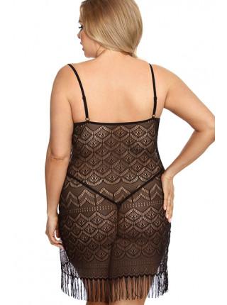 Сексуальное ажурное платье Geali