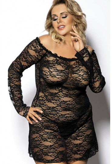 Сексуальное кружевное платье Orangina