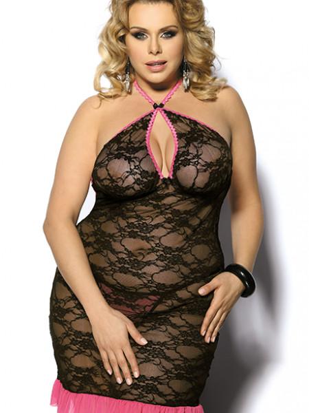 Полупрозрачное сексуальное платье Sinopa