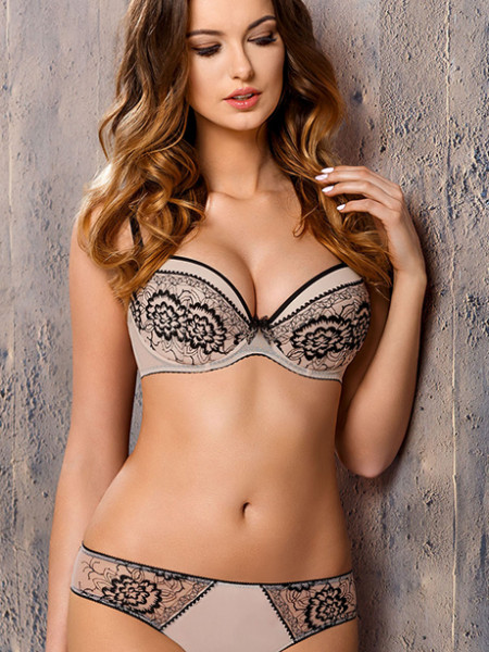 Комплект Kinga Beauty - бюстгальтер push up PU-549 и стринги S-549/1