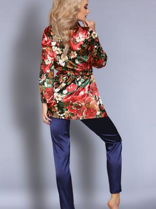 Элегантный комплект пеньюар и брюки Frida