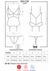 Сексуальный корсет с кружевом 810-COR-2 white
