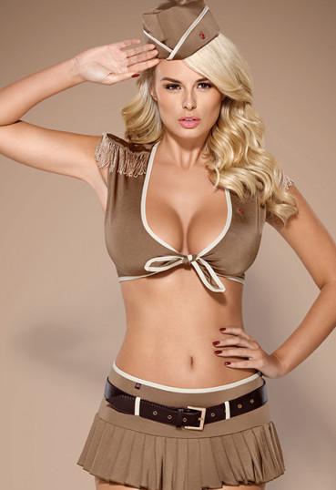 Игровой костюм девушки-офицера 814-CST-4