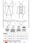 Сексуальный полупрозрачный корсет с кружевом 841-COR-1
