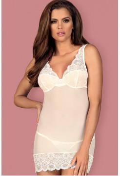 Элегантная эротическая сорочка с кружевом  853-CHE-2 chemise