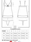 Сексуальная сорочка с кружевом 856-CHE-1
