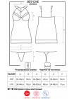 Элегантная сексуальная сорочка 857-CHE-1