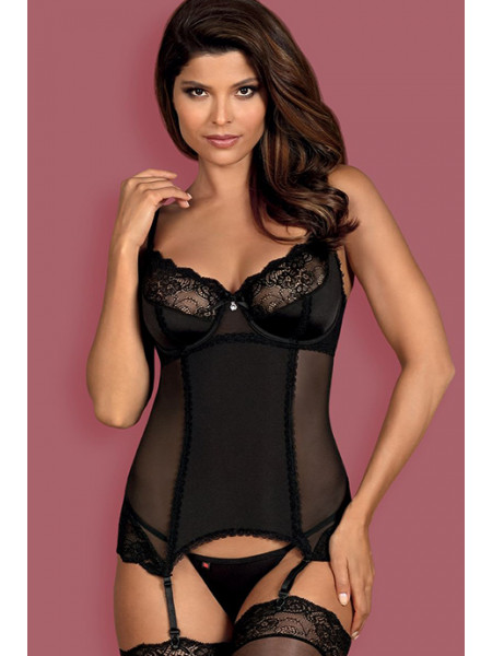 Соблазнительный корсет с оригинальной спинкой Amallie corset