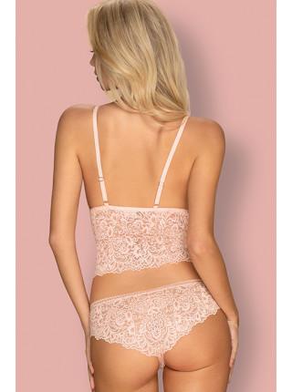 Сексуальный розовый комплект с топом Delicanta top