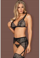 Сексуальный кружевной комплект Firella garter belt set