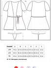 Бирюзовый халатик с кружевными рукавами Miamor robe