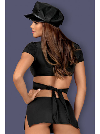Игровой костюм девушки копа Police uniform costume