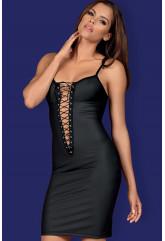 Элегантное сексуальное платье со шнуровкой Redella