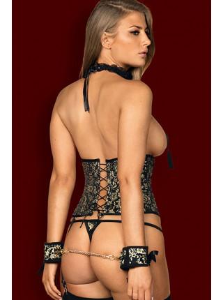 Открытый сексуальный корсет Shelle corset