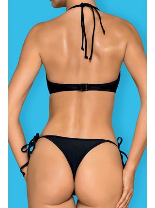 Пикантный черный раздельный купальник Costarica