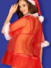 Сексуальный новогодний пеньюар Santasia peignoir