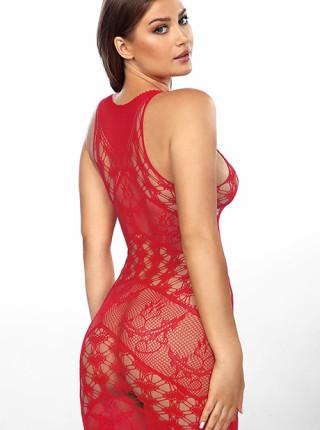 Сексуальное ажурное платье Freya