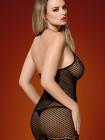 Сексуальное полупрозрачное платье D226