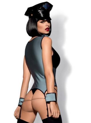 Сексуальный комплект Police corset